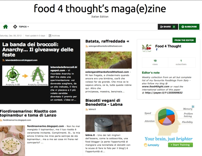 food4thoughts it_magazine